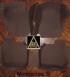 Acura MDX Килимки з Екошкіри 3D (YD3 / 2014+), фото 3