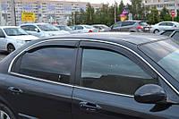 Дефлекторы стекол Hyundai Sonata IV Sd 1998-2004; Tagaz 2004 (Хьюндай Соната) Cobra Tuning
