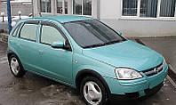 Дефлекторы боковых стекол Opel Corsa C 5d 2000-2006 (Опель Корса) Cobra Tuning