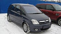 Дефлекторы боковых стекол Opel Meriva A 2002-2011 (Опель Мерива А) Cobra Tuning