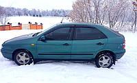 """Боковые дефлекторы Fiat Brava Hb 1995-2003 деф.окон """"CT"""""""