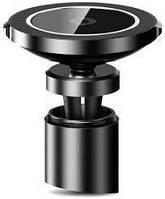 Держатель для мобильного с БЗП Baseus Big Ears Car Mount Wireless Charger Black