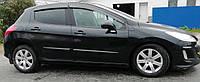Дефлекторы окон Peugeot 308 Hb 5d 2008 (Пежо 308) Cobra Tuning