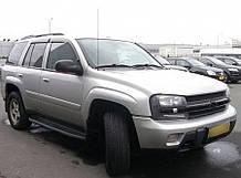 Дефлекторы окон Chevrolet Trialblazer 2002-2010 (Шевроле триалблазер) Cobra Tuning