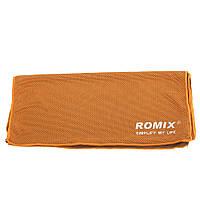 Охлаждающее полотенце ROMIX Оранжевое (RH24-0.9OR) КОД: RH24-0.9OR