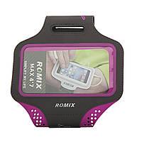 Наручный чехол 4.7 ROMIX с сенсорным экраном Фиолетовый (RH18-4.7P) КОД: RH18-4.7P