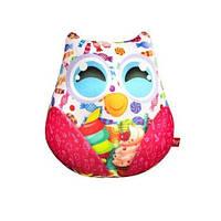 Мягкая игрушка-антистресс Dankotoys Сова с конфетами (35006) КОД: 35006