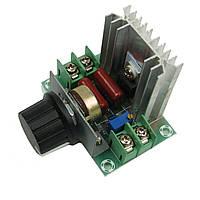 Диммер XH-M141 тиристорный регулятор переменного напряжения мощности 220в/18А до 4кВт