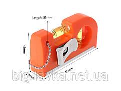 Мини уровень Haccury с магнитом и 2 ампулами