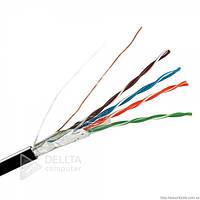 Кабель для внутренней прокладки CAT CCA305m 5e UTP 4*2*.048mm, витая пара (бухта), кабель витая пара