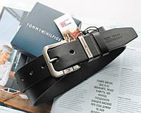 Мужской кожаный ремень Tommy Hilfiger Black, фото 1