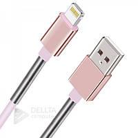 Lighting USB  Кабель  (Half Spring) с пружинкой