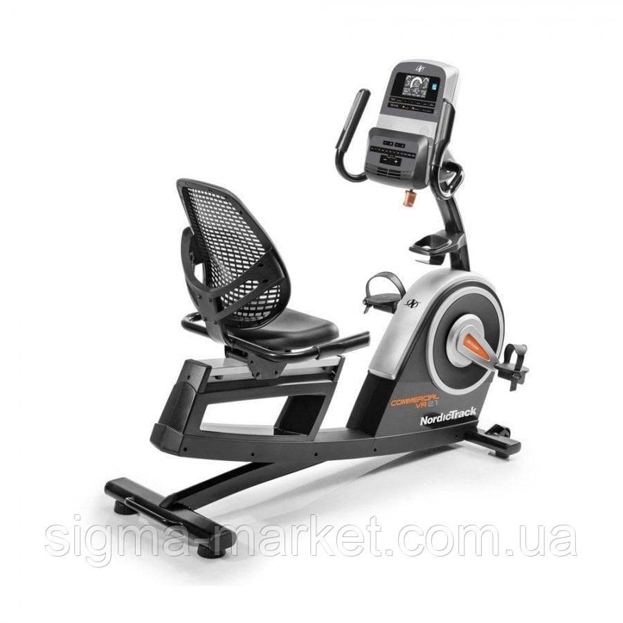 Велотренажер горизонтальный NordicTrack Commercial VR21