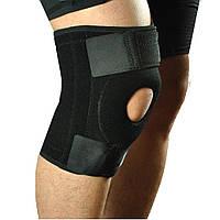 Наколенник бандаж стабилизатор для коленной чашечки со спиральными ребрами жесткости Knee support with stays YC 733 (up5238) КОД: up5238