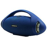 Портативная Bluetooth колонка Hopestar H37 с влагозащитой Синяя (jv-24) КОД: jv-24