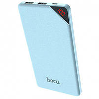 Портативное зарядное устройство Power Bank Hoco B12 Initial 13000 mAh Голубой КОД: hoc_b1213blue
