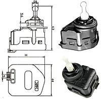 Корректор фары VW PASSAT 00-05 (B5) (тип hella 6nm 007 878-041) (FPS). 02C2S15088