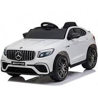 Детский электромобиль QS568 Mercedes Benz GLC63S Белый (OL00244) КОД: OL00244