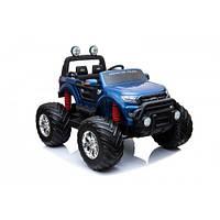 Электромобиль Джип Ford Licensed Ranger Monster Truck Pickup 4WD Electric Ride on Car DK-MT550 Jeep Blue (OL00251) КОД: OL00251