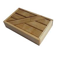 Деревянная головоломка Круть Верть Брусочки 2х11х7 см (nevg-0032) КОД: nevg-0032