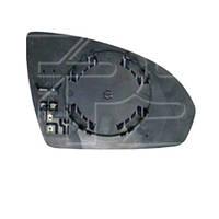 Вкладыш зеркала SMART FORTWO 2 07-14 (451) левый обогрев выпуклый (FPS). FP8403M11