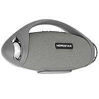Портативная Bluetooth колонка Hopestar H37 с влагозащитой Серая (jv-25) КОД: jv-25