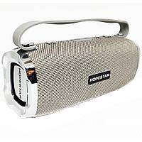 Портативная Bluetooth колонка Hopestar H24 с влагозащитой Серая (jv-39) КОД: jv-39
