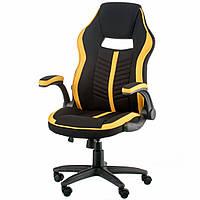 Кресло для геймеров Special4You Prime Black/Yellow (000003638) КОД: 000003638