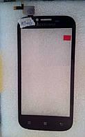 Lenovo A706 сенсорний екран, тачскрін чорний