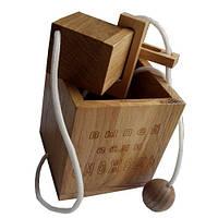 Веревочная головоломка Круть Верть Достань бутылку (nevg-0055) КОД: nevg-0055