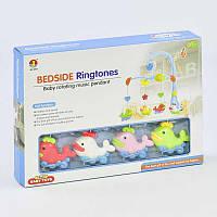 Мобиль Baby Toys Рыбки Заводной механизм (2-6548А-70436) КОД: 2-6548А-70436