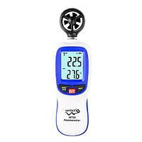 Анемометр 0,3-30м/с, -10-45°C  WINTACT WT82