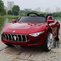 Детский электромобиль Maserati FT 8808 Бордовый (OL00227) КОД: OL00227