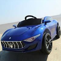 Детский электромобиль Maserati FT 8808 Синий (OL00228) КОД: OL00228