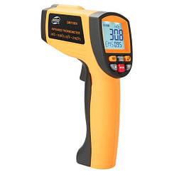 Бесконтактный инфракрасный термометр (пирометр)  -30-1150°C, 50:1, EMS=0,1-1  BENETECH GM1150A