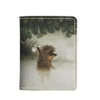 Картхолдер v.2.0. Fisher Gifts 39 Ежик в тумане (эко-кожа)