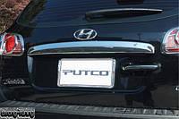 Накладка на багажник нерж HYUNDAI SANTA-FE 2006+