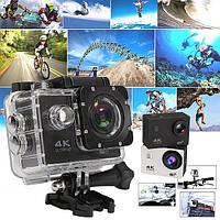 Экшн камера DVR SPORT S2 Wi Fi waterprof 4K, Водонепроницаемая крепление на руль и шлем, фото 1