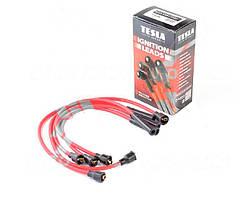 Провода высоковольтные ВАЗ 2101-07 карбюратор комплект, суп/силикон (TESLA). T412M