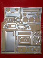 Накладки салона под алюминий Mazda 3 2003-2009