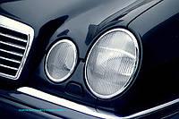 Накладки на фары Mercedes Benz e-class w210