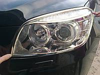 Накладки на фары Toyota Rav4 2006-2014