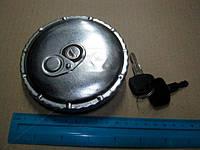 Крышка бака топливного (цинк) 80 мм (с ключем) (RIDER). RD19-65-232