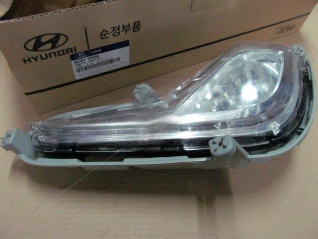 Фара противотуманная левая Hyundai ACCENT 10- (пр-во Mobis). 922011R000