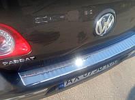 Накладка на задний бампер для Volkswagen Passat B6