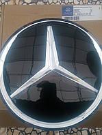 Эмблема передняя Mercedes 188 мм под стеклом для Vito w447 2015+