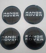 Наклейка выпуклая на колпачок диска Range Rover 56 мм