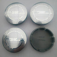 Колпачки в диски Opel 52-56 мм серые