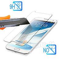 Защитное стекло для экрана Samsung Galaxy Note 2 n7100 твердость 9H, 2.5D (tempered glass)