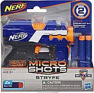 Нерф Бластер  Микрошот Элит Страйф Nerf MicroShots N-Strike Elite Stryfe оригинал от Hasbro, фото 3